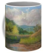 Bear Mountain Bridge From Iona Marsh Coffee Mug