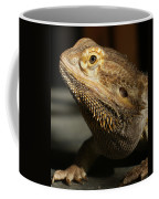 Bearded Dragon Profile Coffee Mug