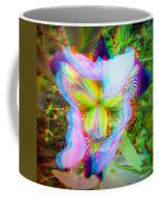 Bearded Iris Cultivar - Use Red-cyan 3d Glasses Coffee Mug