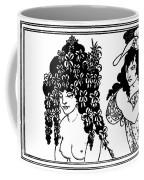 Beardsley Lysistrata, 1896 Coffee Mug
