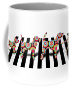 Beatles Dogs Coffee Mug by Mark Ashkenazi