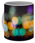 Beautiful Background On Dark Out Of Focus Lights During The Nig Coffee Mug