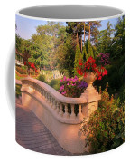 Beautiful Balustrade Fence In Halifax Public Gardens Coffee Mug