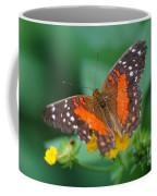 Red Anartia Butterfly 1 Coffee Mug