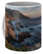 Beautiful California Coast In Spring Coffee Mug by Mike Reid