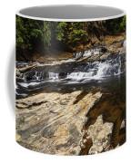 Beautiful Cascade In Western Ghats Karnataka India Coffee Mug