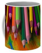 Beautiful Colored Pencils Coffee Mug