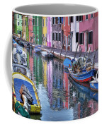 Beautiful Colors Of Burano Coffee Mug