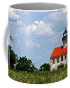 Beautiful Day At East Point Lighthouse  Coffee Mug