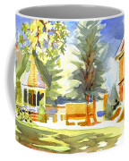 Beautiful Day On The Courthouse Square Coffee Mug