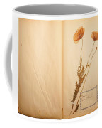 Beautiful Dried Vintage Flowers Coffee Mug