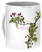 Beautiful Floral Greetings Coffee Mug