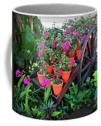 Beautiful Flower Wagon Coffee Mug