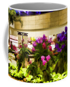 Beautiful Flowers Inside The Changi Airport Coffee Mug