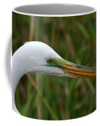 Beautiful Great Egret Coffee Mug