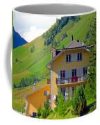 Beautiful House In Mont Blanc Coffee Mug