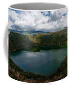 Beautiful Lake Guatavita Coffee Mug