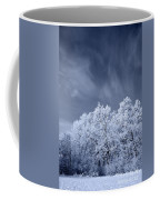 Beautiful Landscape With A Stormy Wind Coffee Mug