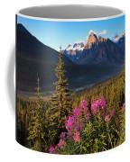 Rocky Mountains Sunset Coffee Mug