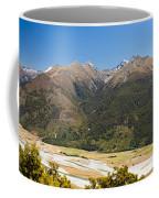 Beautiful Makarora Valley On South Island Of Nz Coffee Mug