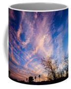 Beautiful Morning Sunrise Clouds Across The Sky Coffee Mug