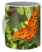Beautiful Orange Butterfly - Gulf Fritillary Coffee Mug