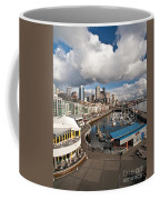 Beautiful Seattle Sky Coffee Mug by Mike Reid