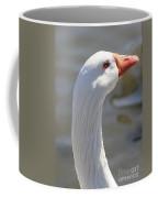 Beautiful White Goose Coffee Mug