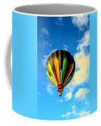 Beautiful Stripped Hot Air Balloon Coffee Mug