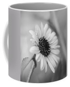 Beautiful Sunflower In Monocrome Coffee Mug