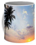 Beautiful Tropical Sunset Coffee Mug