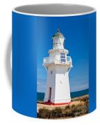 Beautiful Wairapa Point Lighthouse The Catlins Nz Coffee Mug