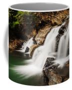 Beautiful Waterfall In Western Ghats Karnataka India Coffee Mug