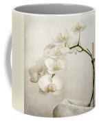 Beautiful White Orchid II Coffee Mug by Hannes Cmarits