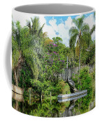 Beautiful Winter Day In Florida  Coffee Mug