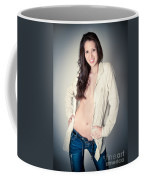 Beautiful Young Woman Coffee Mug