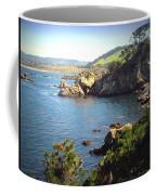 Beautifully Rugged Shoreline At Point Lobos Two Coffee Mug