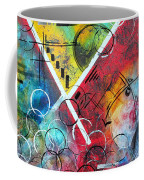 Beauty Amongst The Chaos By Madart Coffee Mug