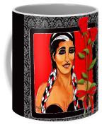 Beauty And Flowers 2 Coffee Mug