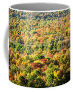 Beauty And The Grid Coffee Mug
