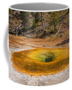 Beauty Pool In Upper Geyser Basin In Yellowstone National Park Coffee Mug