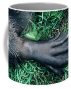 Beaver Foot Coffee Mug