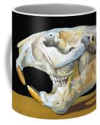 Beaver Skull 1 Coffee Mug