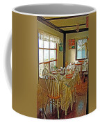 Bed And Breakfast Over The Water At Fishing Point In Saint Anthony-nl Coffee Mug