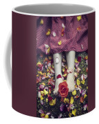 Bedded In Petals Coffee Mug