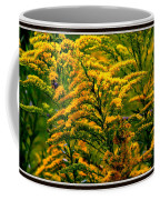 Bee And Goldenrod Coffee Mug