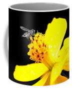 Bee In Black And White Coffee Mug