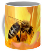 Bee In Flower Coffee Mug