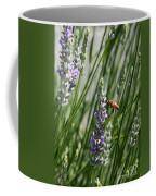 Bee In Lavender Coffee Mug