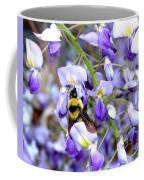 Bee In The Wisteria Coffee Mug